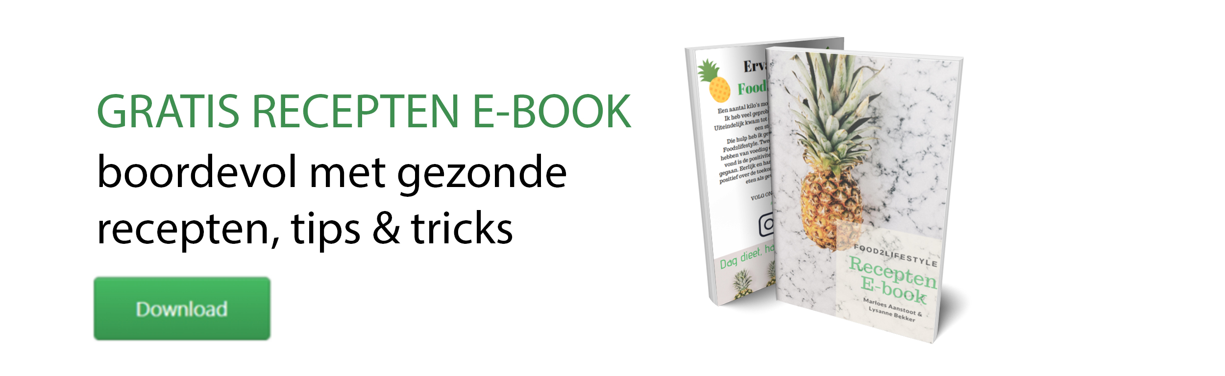 e-book I Diëtistenpraktijk Arnhem I Food2Lifestyle